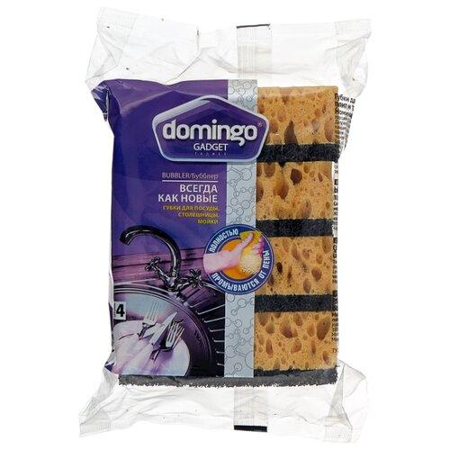 Губка для посуды DOMINGO Gadget Бубблер 4 шт доминго губки для посуды бубблер 4шт