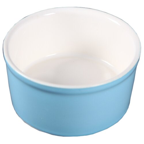 Миска Joy керамическая для кошек и собак мелких пород 450 мл голубой