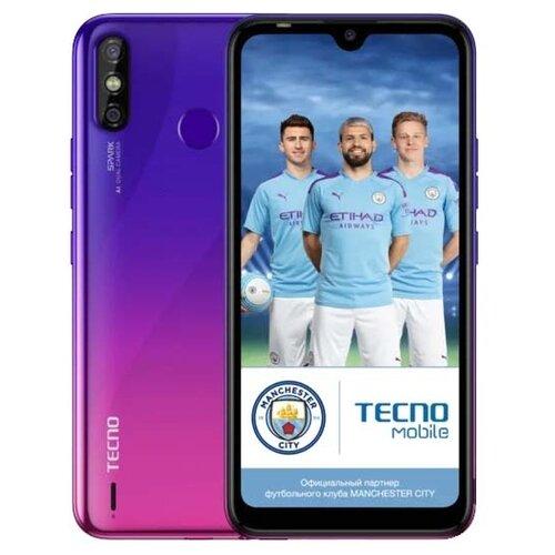Смартфон TECNO Spark 4 Air ярко-фиолетовый