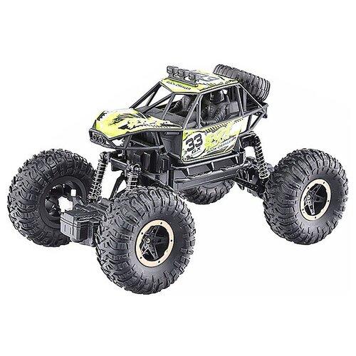 Купить Монстр-трак Oubaoloon KS1015-1 24 см черный/зеленый, Радиоуправляемые игрушки