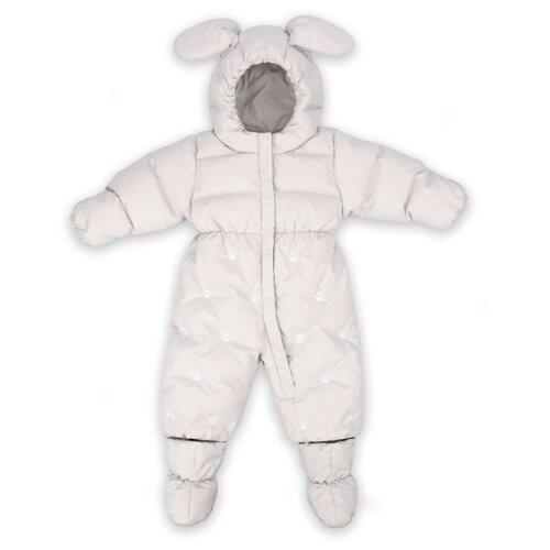 Купить Комбинезон Happy Baby размер 68-74, grey, Теплые комбинезоны