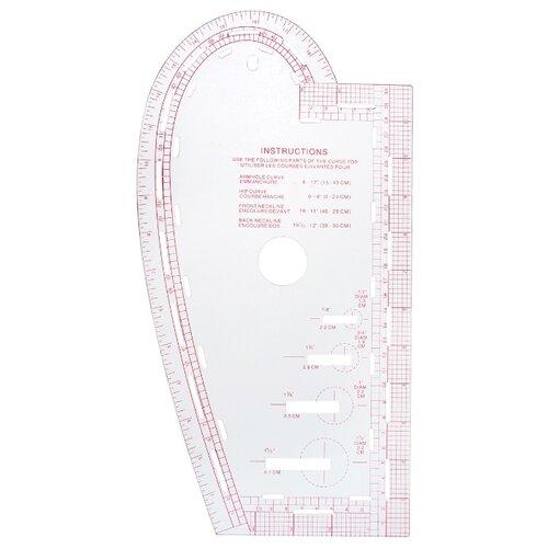 Hemline Лекало портновское Sew Easy NL4196 прозрачный