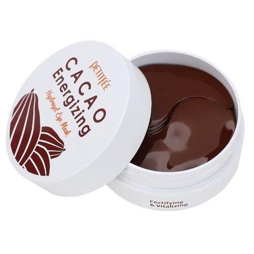 Petitfee Гидрогелевые патчи для глаз Cacao Energizing Hydrogel Eye Mask, 60 шт. недорого