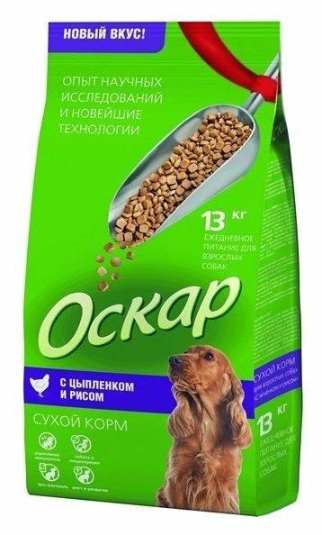 Корм для собак Оскар Сухой корм для собак Цыпленок с рисом (13 кг)