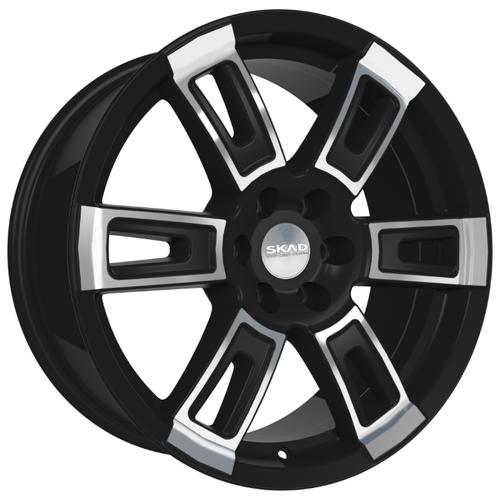 Колесный диск SKAD Тор 8x18/6x139.7 D106.2 ET25 Алмаз бархат фото