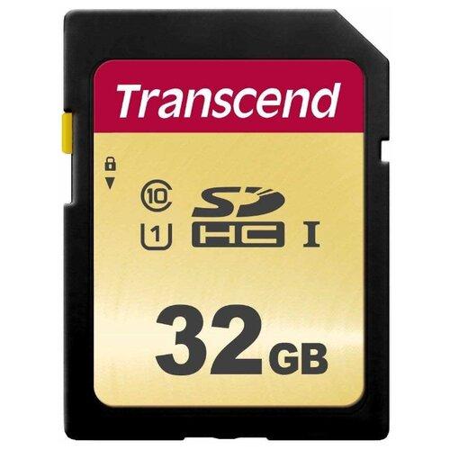 Фото - Флеш-накопитель Transcend Карта памяти Transcend 32GB UHS-I U1 SD card MLC карта памяти transcend 8gb uhs i u1 microsd with adapter mlc