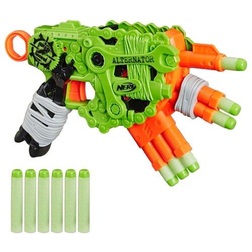 Купить Бластер Nerf Зомби Страйк Альтернатор (E6187), Игрушечное оружие и бластеры