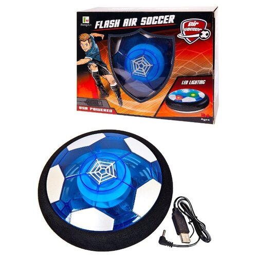 Мяч-диск 14см RongXin (RX3351C) черный/белый/синий