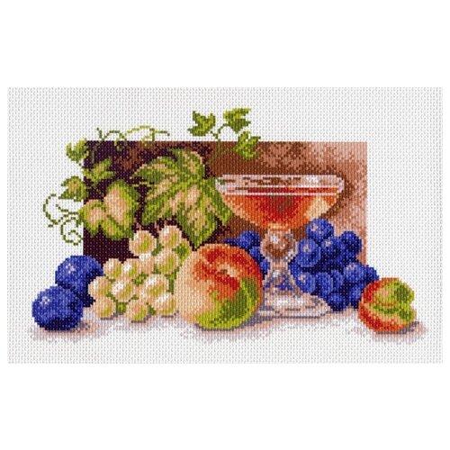 Купить Натюрморт с персиком Рисунок на канве 28/37 28х37 (17х29) Матренин Посад 991, Матрёнин Посад, Канва
