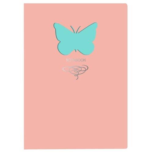 Купить Блокнот Канц-Эксмо Paper Art. Butterfly (розовый) А6+, 80 листов (КЗБФЛ6802933), Блокноты