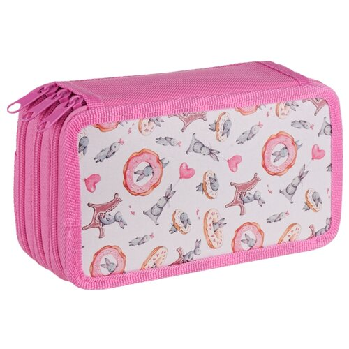 Купить ArtSpace Пенал Милый кролик (ПК3_29130) розовый, Пеналы