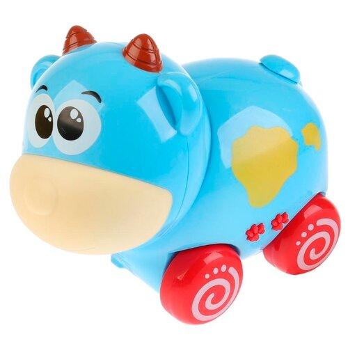 Каталка-игрушка Умка Коровка (ZY238298) голубой цена 2017
