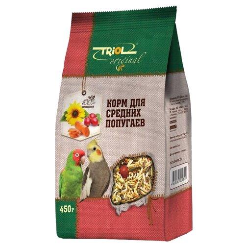 Triol корм Original для средних попугаев 450 г
