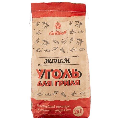 стейк свинина для гриля мираторг 400 г Grillkoff Уголь древесный для гриля «Эконом», 26 л