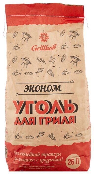 Grillkoff Уголь древесный для гриля «Эконом», 26 л