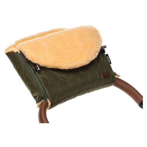 Купить Муфта меховая для коляски Nuovita Polare Pesco (Khaki/Хаки), Аксессуары для колясок и автокресел