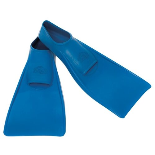 Ласты с закрытой пяткой Flipper SwimSafe детские из натуральной резины синий 22-24