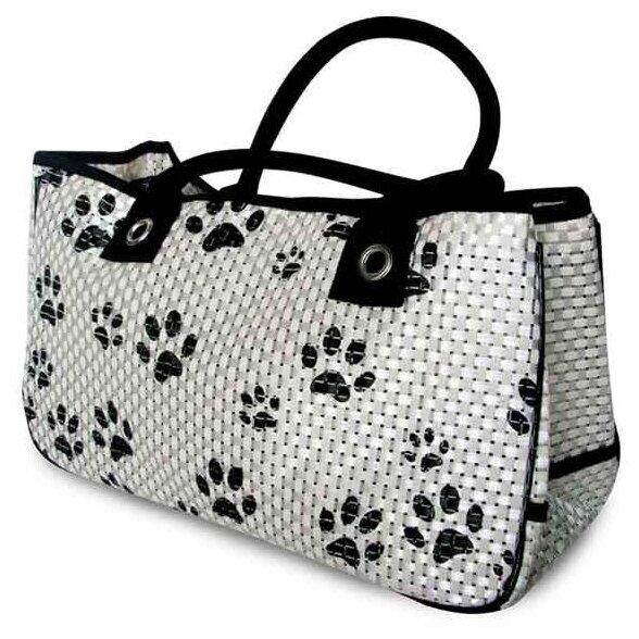 Сумка-переноска для собак и кошек Triol TB-05, размер 40х26х20см.