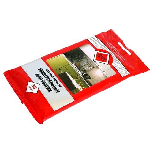 Салфетка влажная Home Queen универсальная для уборки 30 шт салфетка для уборки magic home зигзаг 30 30 см