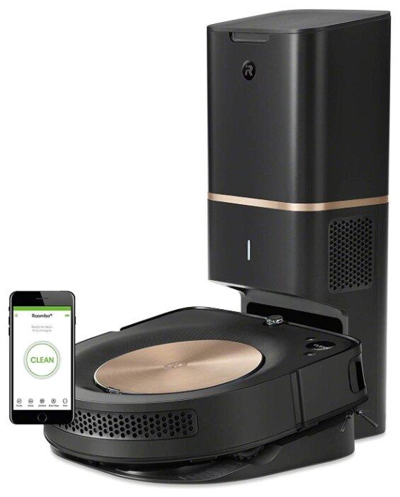 Робот-пылесос iRobot Roomba S9+ черный