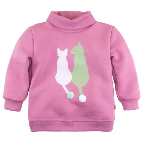 Свитшот Bossa Nova Китти размер 92, розовый джемпер детский bossa nova цвет розовый 207б 181 размер 86 92
