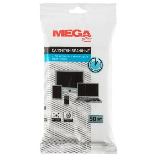 Фото - Салфетки Promega office влажные, для экранов и мониторов всех типов, 50шт салфетки opti clean 50 для всех типов экранов с клапаном 50 шт 72015