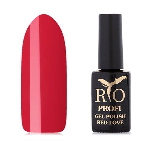 Купить Гель-лак для ногтей Rio Profi Red Love, 7 мл, 3 Виктория