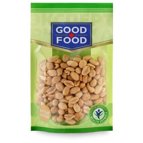 corincorn арахис жареный соленый 100 г Арахис GOOD FOOD жареный соленый, пластиковый пакет 150 г