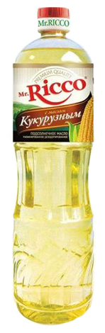 Mr.Ricco Масло подсолнечное Organic с кукурузным
