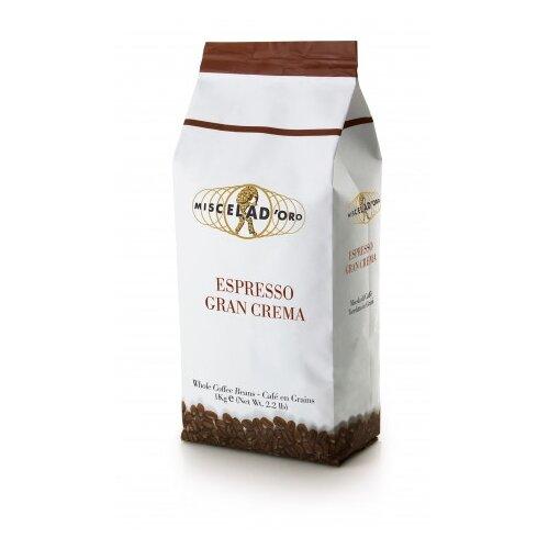 Кофе в зернах Miscela D'Oro Gran Crema, арабика/робуста, 1 кг кофе зерновой miscela d oro gran crema 1000 г