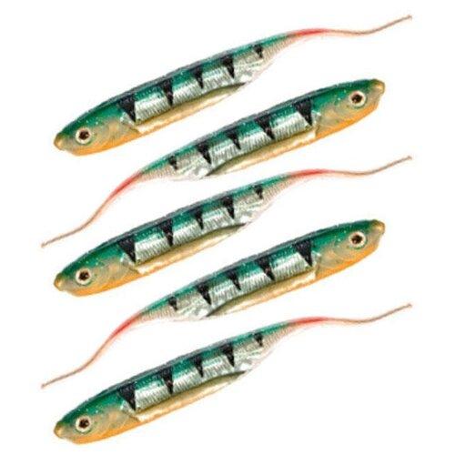 Набор приманок резина MIKADO червь Sasori PMSI-7.5-519 5 шт.