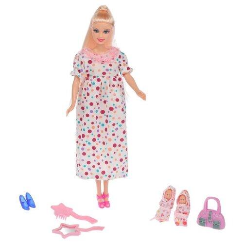 Купить Кукла Defa Lucy Будущая мама 29 см 8009 spotted, Куклы и пупсы