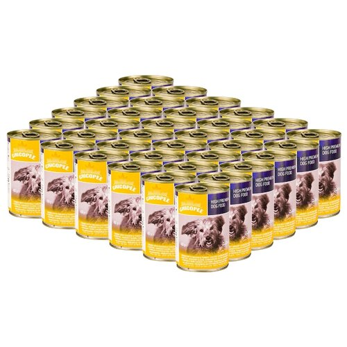 Влажный корм для собак Chicopee курица 24шт. х 400г