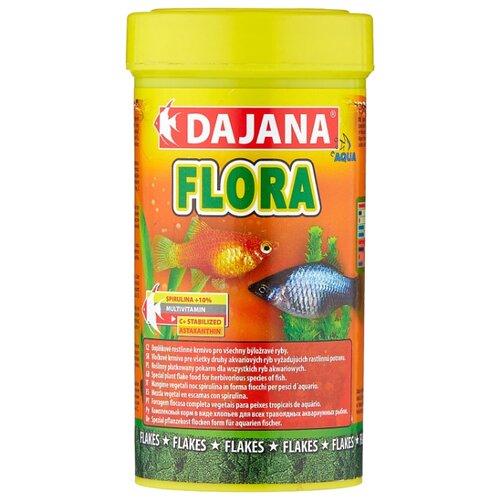 Сухой корм для рыб Dajana Pet Flora 250 мл 50 г сыворотка эликсир для рук 50 г nordic flora