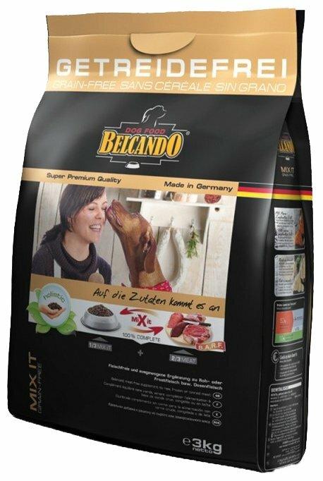 Корм для собак Belcando Mix it GF для собак склонных к аллергии для всех пород на основе амаранта (3 кг)
