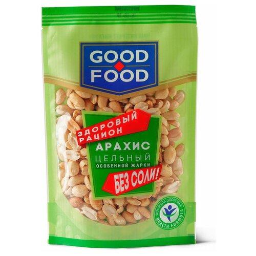 corincorn арахис жареный соленый 100 г Арахис GOOD FOOD жареный, пластиковый пакет 150 г