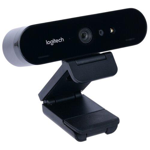 Веб-камера Logitech Brio Stream Edition черный