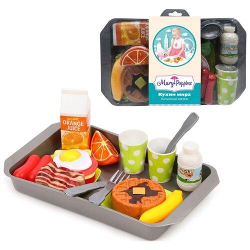 цена Набор продуктов с посудой Mary Poppins Английский завтрак 453187 в ассортименте онлайн в 2017 году