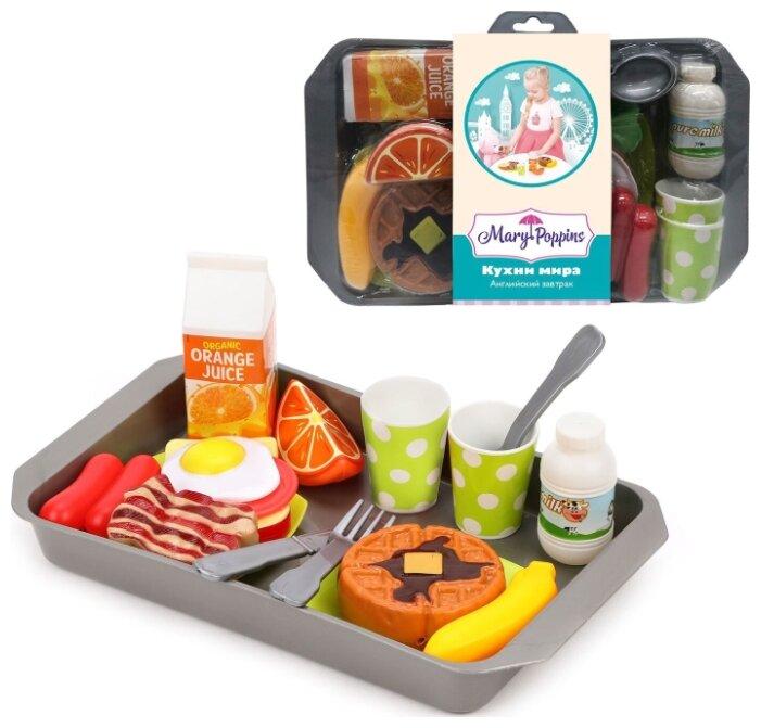 Набор продуктов с посудой Mary Poppins Английский