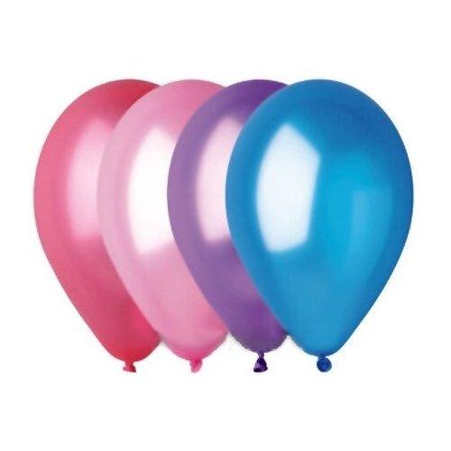 Набор воздушных шаров GEMAR 1101-0001 металлик (100 шт.) набор воздушных шаров miraculous металлик 100 шт синий