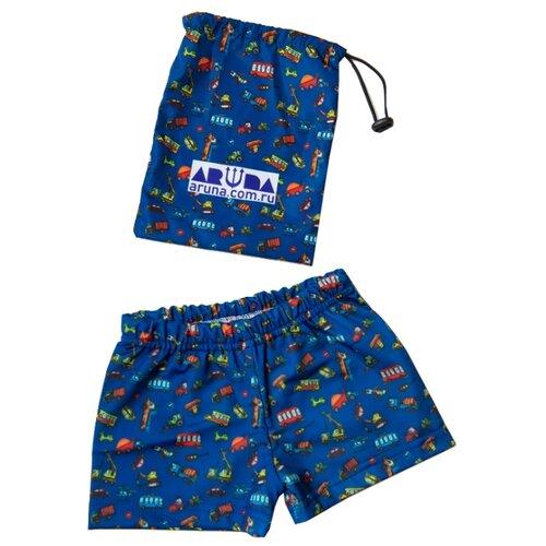 Плавки Aruna размер 122-134, синийБелье и пляжная мода<br>