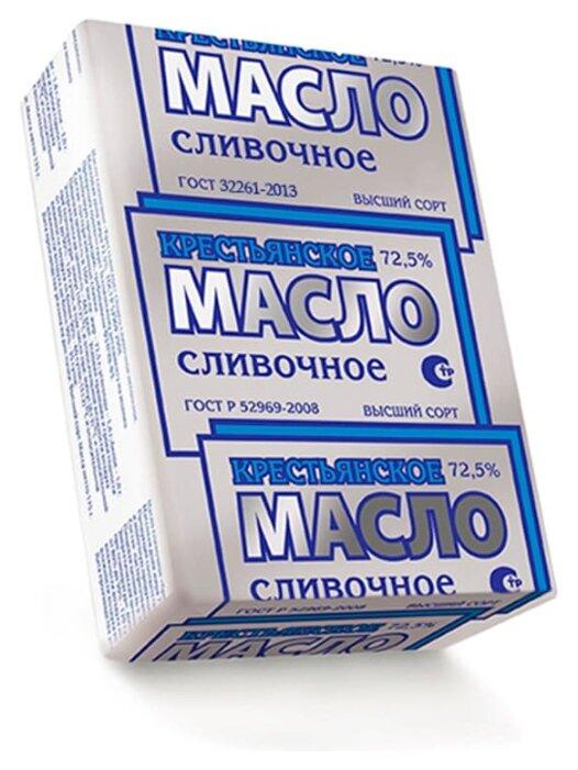 Краснобаковское Масло сливочное крестьянское 72.5%, 175 г