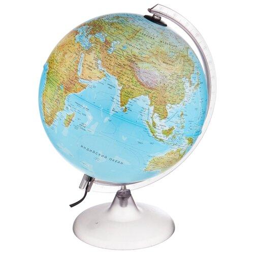 Глобус физико-политический Nova Rico Orion двойная карта 250 мм коричневый