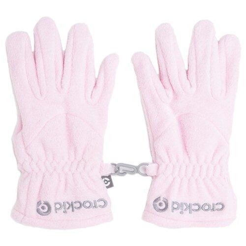 Купить Перчатки crockid ФЛ 10001 размер 13, нежно-розовый, Перчатки и варежки