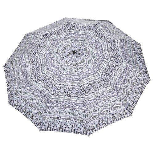 Зонт автомат ZEST 23928 серый/голубой