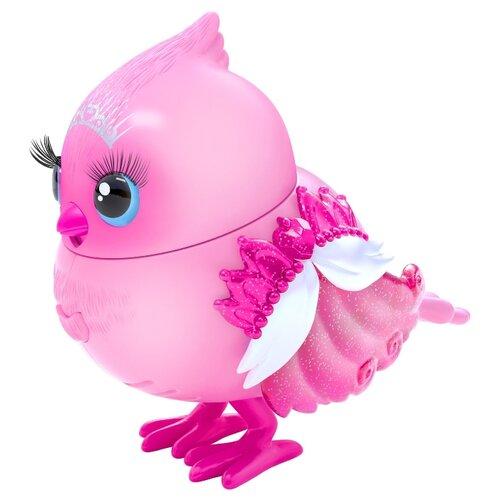 Купить Робот Moose Little Live Pets Птичка в скворечнике Tiara Tweets 26028 розовый, Роботы и трансформеры