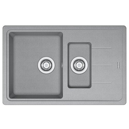Врезная кухонная мойка 78 см FRANKE Basis BFG 651-78 серый