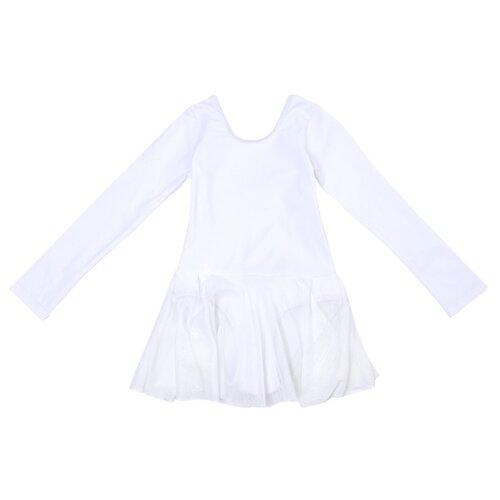 Купить Купальник playToday размер 134-140, белый, Купальники и плавки