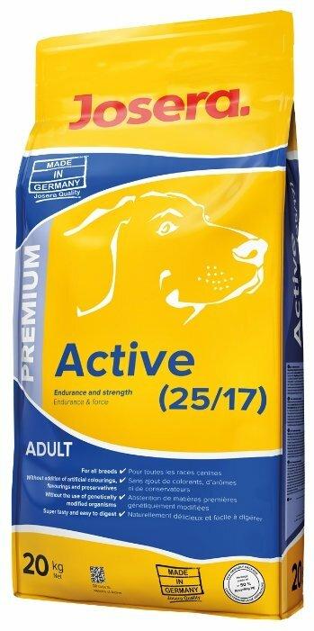 Корм для собак Josera Active (20 кг)