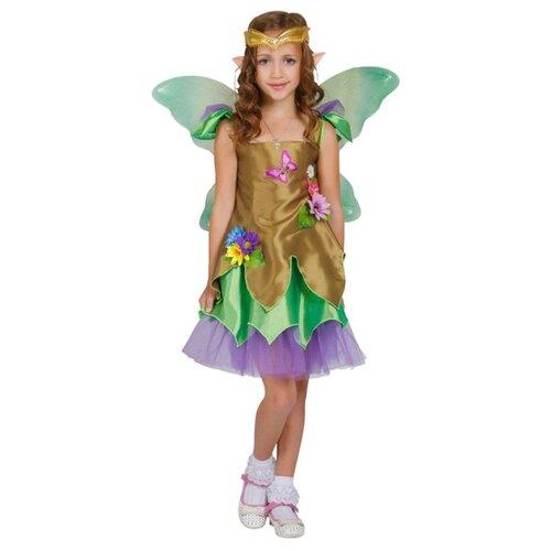 Купить Костюм Elite CLASSIC Эльф девочка, зелeный, размер 28 (116), Карнавальные костюмы